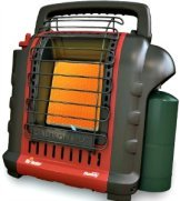 Portable camping heater