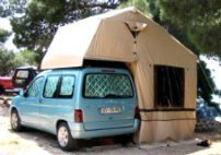 Rooftents & Ford Transit Connect Camper - The Sporty Mini Camper