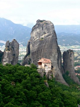 Meteora monasteries, Greece.