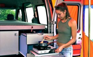 a couple of fresh interior ideas - Ford Transit Connect Interior Camper