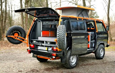 4x4 camper vans the toughest camper van conversions around. Black Bedroom Furniture Sets. Home Design Ideas