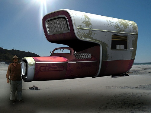 Anti gravity driven camper van.