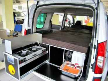 The German made Ququq small camper solution.