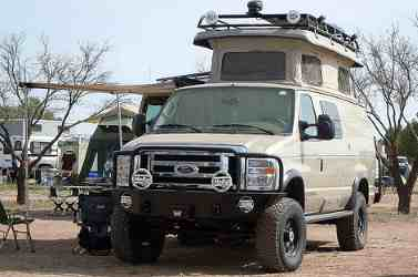 Ford Sportsmobile 4x4- the ultimate camper van conversion.