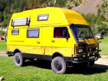 4x4 Volkswagen camper van
