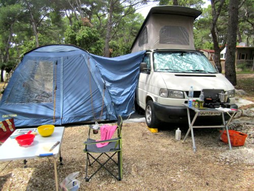 Camper Awnings For Camper Van Conversions