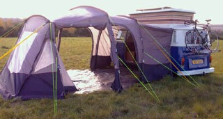 Camper Awnings - Camping Survival Tips