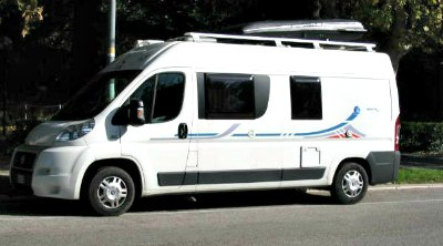 Adria camper van conversion on Fiat Ducato