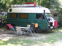 Westfalia camper van conversio
