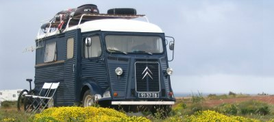 A vintage Citroen HY homemade project.