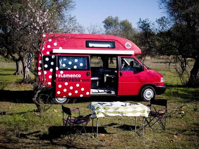 Campervan in Spain