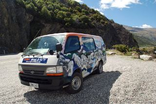 amper van rental New Zealand