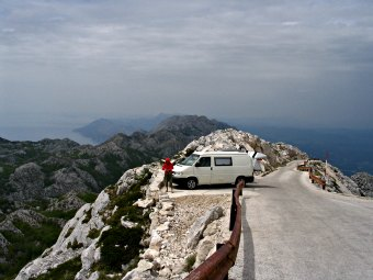 Biokovo mountain, Croatia. The best breathtaking scenery in Europe.