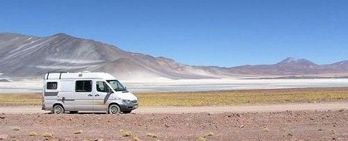 Camper van hire in South America