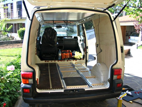 Build Your Own Camper Van