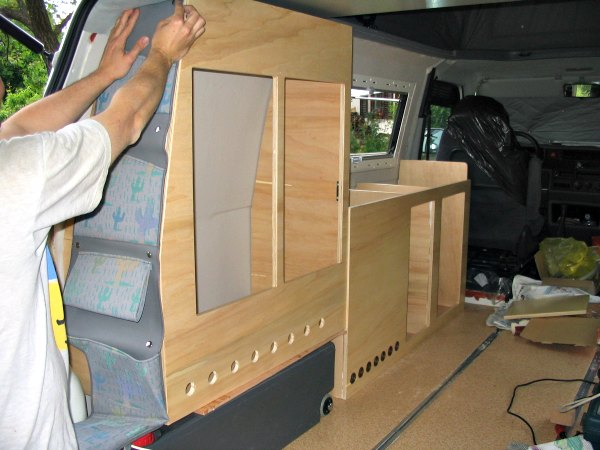 build your own camper van tips and ideas. Black Bedroom Furniture Sets. Home Design Ideas