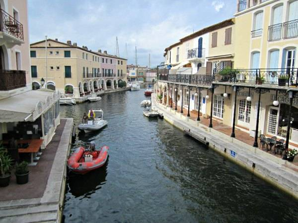 The beautiful Port Grimaud.