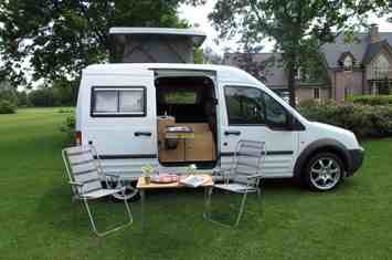 Ford ransit Connect mini camper