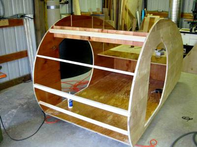 MiniTears custom build teardrop trailer - kit version