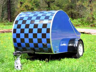 MiniTears custom build teardrop trailer