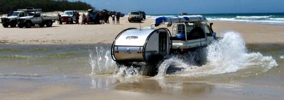 Australian off road teardrop trailer