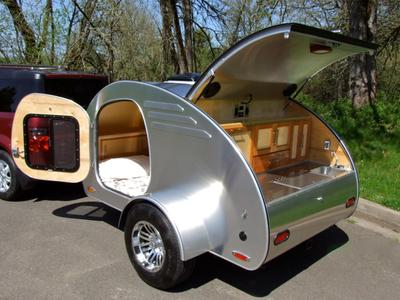 Oregon Trail R Custom High End Teardrop Trailers Kits