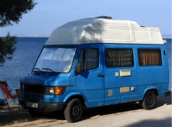 Sprinter homemade campe