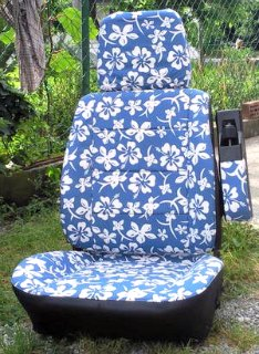 Ho'okipa seat covers for the Volkswagen camper.