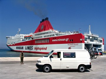 Ferries to Greece, Port Of Igoumenitsa.