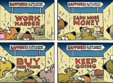 The rat race comic
