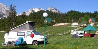 Camping in Durmitor mountains, Montenegro
