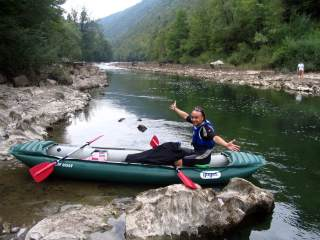 Kayaking in Sloveni