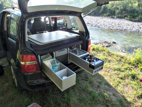 Camping box project from Sipras, a small camper van conversion company from Slovenia.