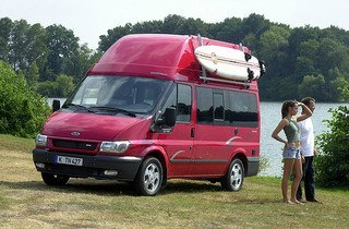 Westaflia Ford Nugget - one of the roomiest camper van conversions