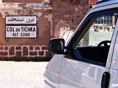 Tichka mountain pass, Morocco