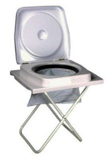 Collapsible Camp Toilet